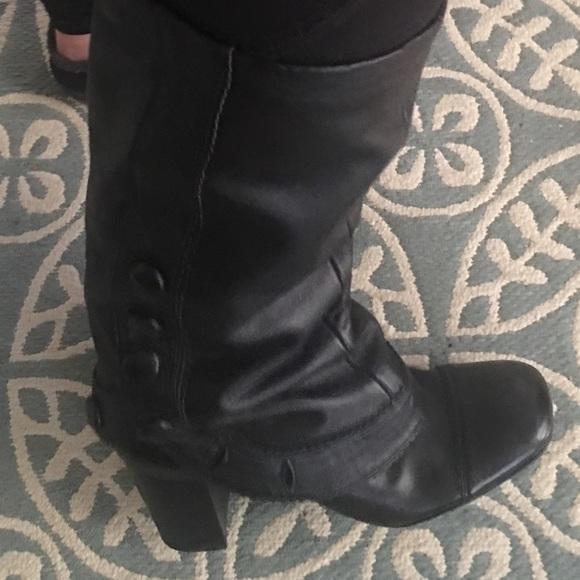 Very nice Heeled Black dress boots